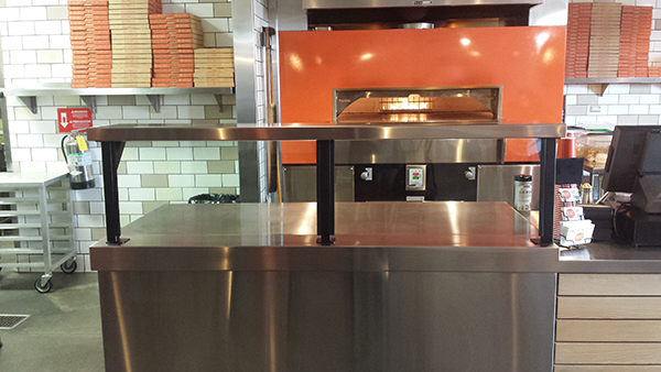 Food barriers for Blaze Pizza 4